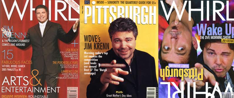 Jim Krenn Magazine Covers