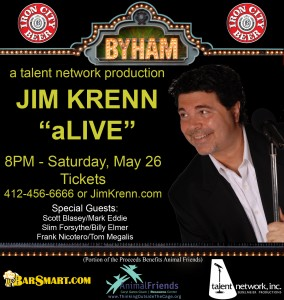 Jimmy Krenn Pittsburgh Comedy Show Byham Theater