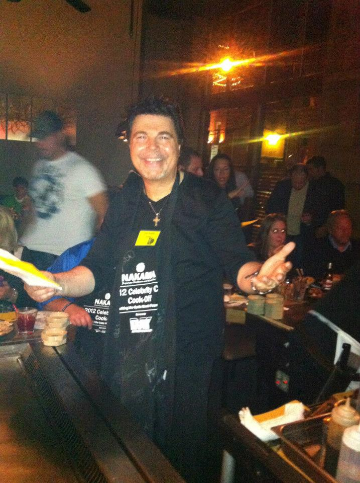 Jim Krenn, Celebrity Chef Cook-Off, Nakama, Pittsburgh Fundraiser Events, Cystic Fibrosis Foundation