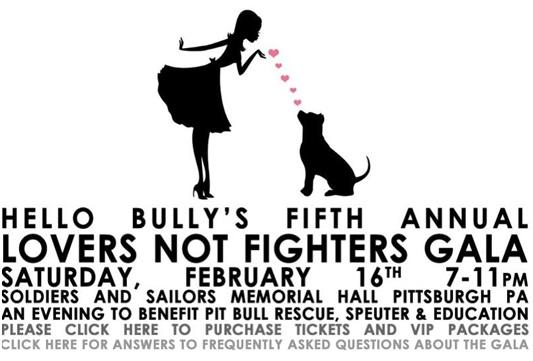 Hello Bully Charity Gala, Pittsburgh Fundraiser Events, Jim Krenn, Hello Bully
