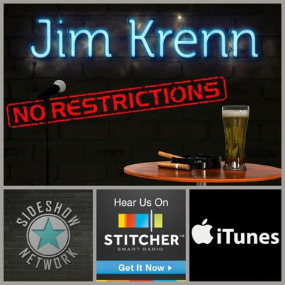 Jim Krenn, Jim Krenn: No Restrictions, Podcast entertainment, Pittsburgh entertainment, Sideshow Network
