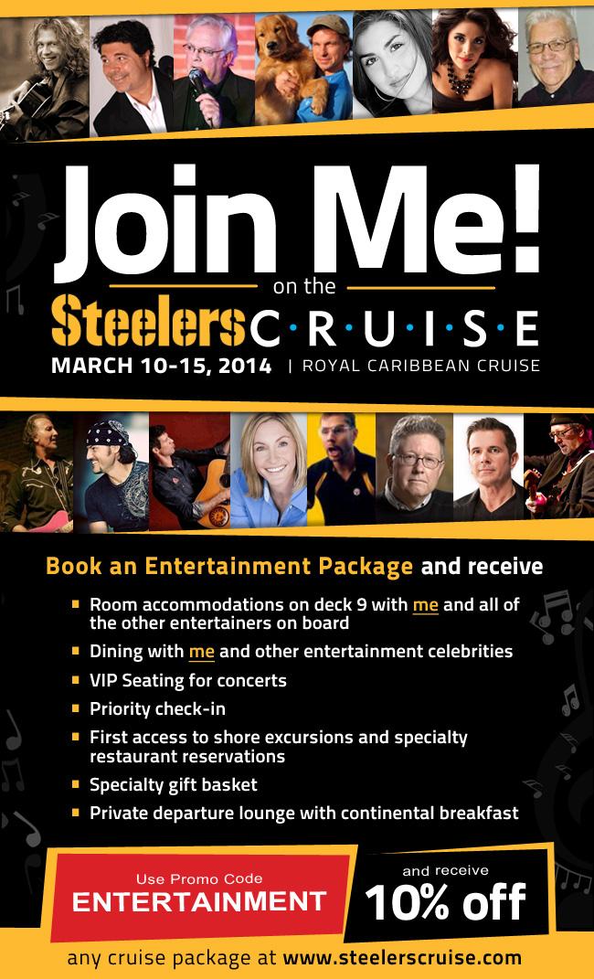 Pittsburgh Steelers Cruise, Pittsburgh Steelers, Jim Krenn