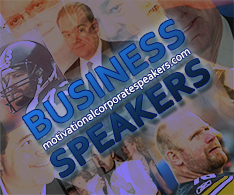 motivational corporate speakers, book business speakers