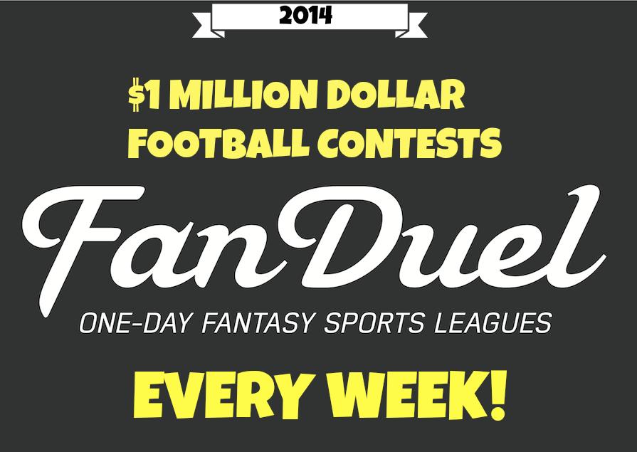 FanDuel, Fan Duel, Fantasy Sports League, Fantasy Football