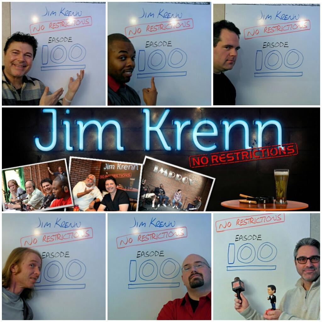 Jim Krenn No Restrictions, comedy podcast