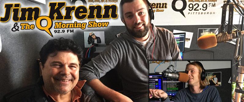Jim Krenn and the Q 92.9 Morning Show