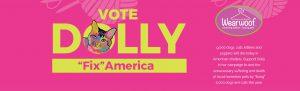 Vote Dolly, Fix America Campaign, Wear Woof, Pittsburgh, Jim Krenn