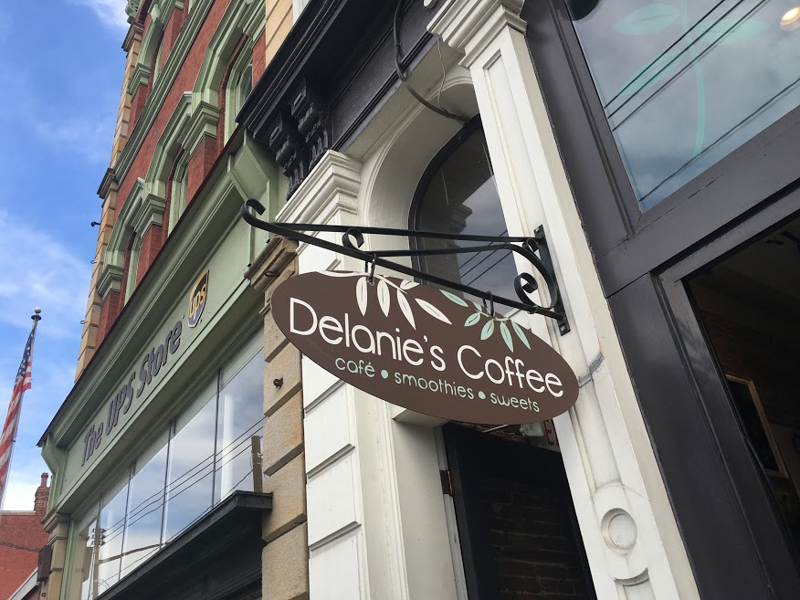 Delanie's Coffee on E Carson Street.