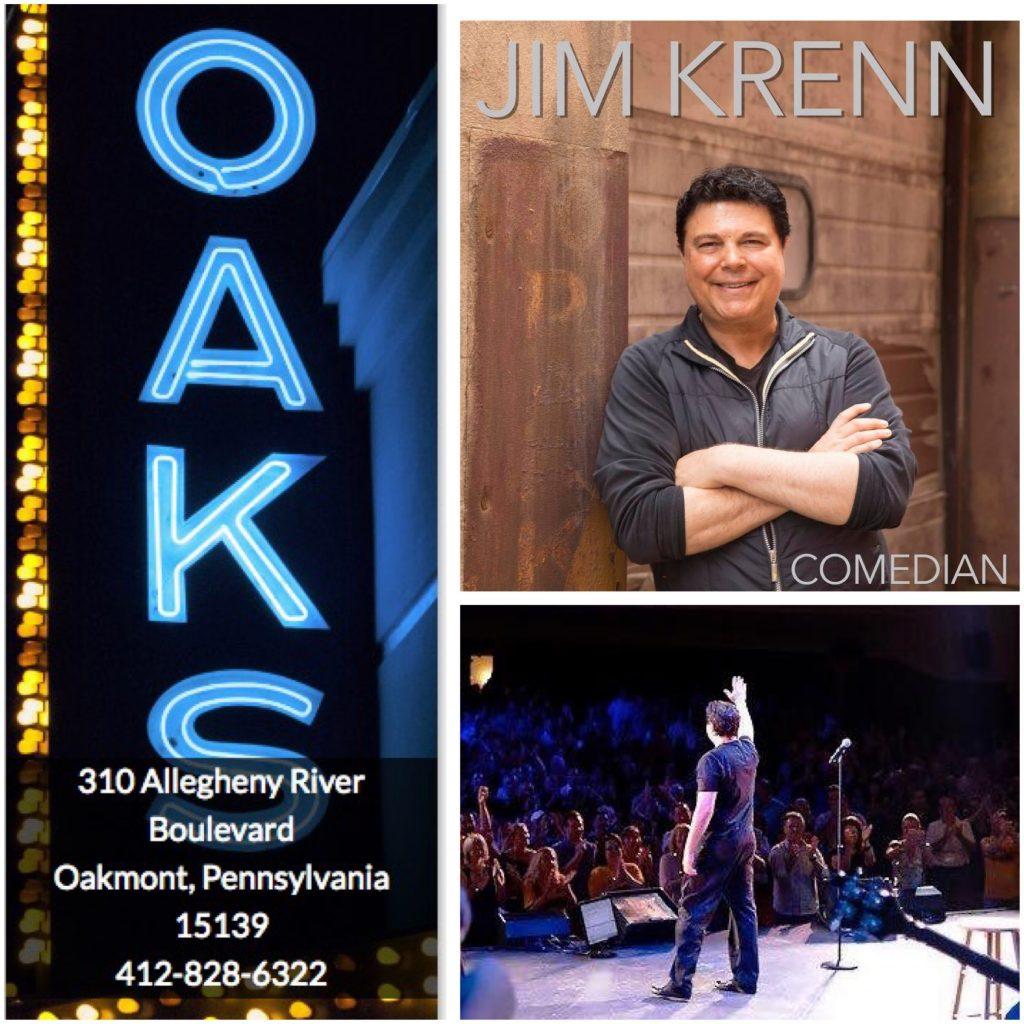 Jim Krenn Comedy Show Oaks Theater Oakmont 2017