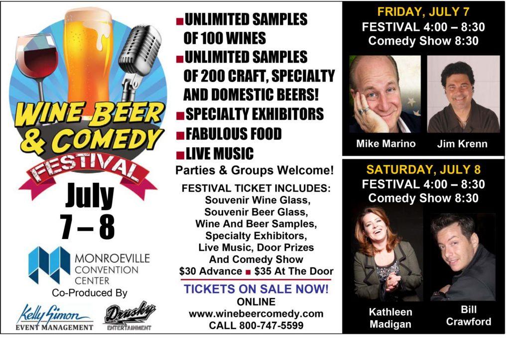 Jim Krenn Comedy Show Pittsburgh Monroeville July 2017