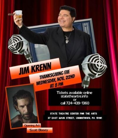 Jim Krenn Comedy Show State Theater Uniontown, PA