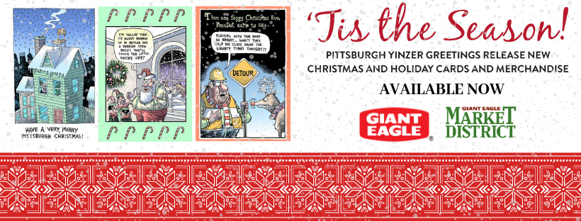 buy pittsburgh greeting cards yinzer cards giant eagle