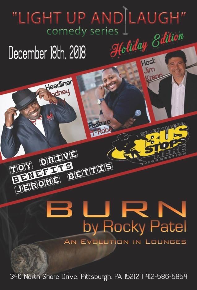 comedy show burn cigars pittsburgh jimkrenn